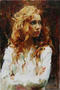 """Michael & Inessa Garmash >>>  """"Golden Beauty"""" #Art"""