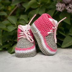 Baby Girl Zapatos, Zapatos BabyGirl primavera, zapatos del resorte, zapatos de la muchacha, muchacha del ganchillo zapatillas, zapatillas de color rosa ganchillo, Pink Baby Girl Shoes