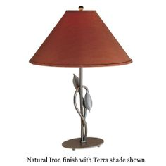 Hubbardton Forge 26-6711 Forged Leaves Table Lamp - hub-26-6711