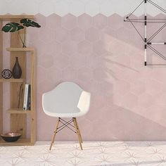 The Pink Hex Water Lily Tiles will give the wow factor to any space, hexagon and made of porcelain this tile is very hardwearing. Porcelain Hexagon Tile, Hexagon Tile Bathroom, Honeycomb Tile, Hexagon Tiles, Pink Tiles, Outdoor Tiles, Wall And Floor Tiles, Tile Patterns, Tile Design