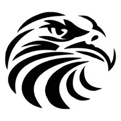 Native American Hawk Symbol | can also be used to symbolize fidelity hawk tattoo ideas