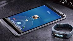 [LEAK] Evleaks tweets a picture showing Huawei smartwatch next to mystery Device - http://www.aivanet.com/2014/02/leak-evleaks-tweets-a-picture-showing-huawei-smartwatch-next-to-mystery-device/