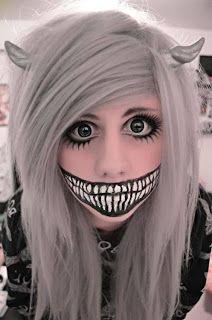 Halloween+Makeup+cosplay