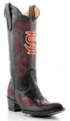 I would love to have these!  Florida State Seminoles Gameday Boots