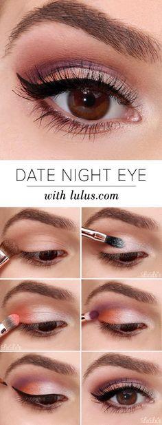 date night eyes. makeup tip.