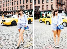 Shooting in Meatpacking with Moustachic | Esther Jung