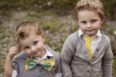 Diy boys tie.. attempting to make these to match their sister headband!
