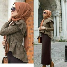 Hijab Style Dress, Modest Fashion Hijab, Modern Hijab Fashion, Hijab Chic, Hijab Outfit, Hijab Dress Party, Muslim Fashion, Fashion Dresses, Hijab Fashionista