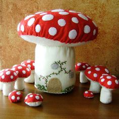 Love these toadstools!!!