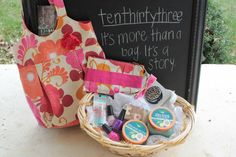 ten thirty three spring/summer tote filled with your favorite goodies, ends 4/25