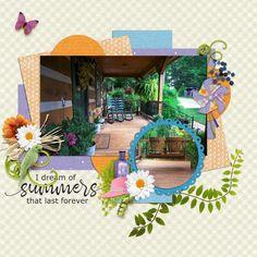Snickerdoodle Design - Backyard Party Collection  Missmel templates - June Grab Bag Bundle
