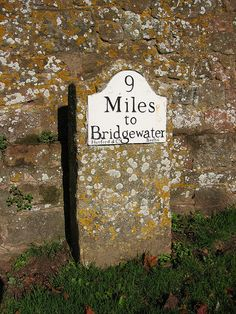 British Country road sign