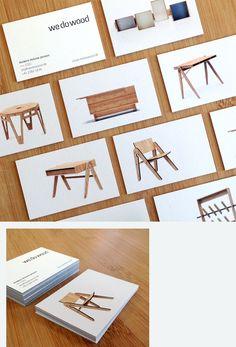 we do wood visitkort