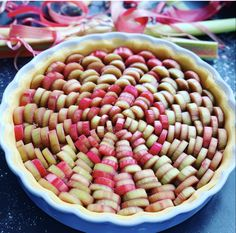 Rhubarb Tea, Rhubarb Syrup, Rhubarb Cake, Tasty Bakery, Low Calorie Recipes, Food Inspiration, Sweet Treats, Food And Drink, Boston