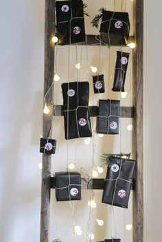 November, Wine Rack, Home Decor, Old Ladder, Wooden Ladder, Christmas Presents, Advent Calenders, Christmas, Ideas