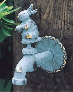 rabbit tap for your garden hose