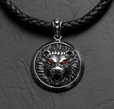 Great Spirit Lion of Kuramongo Round Cubic Eye by GoodSpiritWolf, $44.00