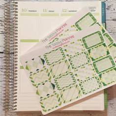 NEW! March Monthly Write-On Half Box Stickers for Erin Condren Life Planner/Plum Paper Planner - Set of 32