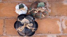 Calabazas de lana - patchwork - Harvest time Pumpkins