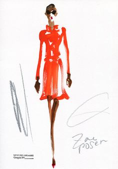 Zac Posen/ Spring 2015 RTW Check out different angle onInstagram!