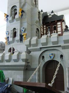 Lego Castle gate | Flickr - Photo Sharing!