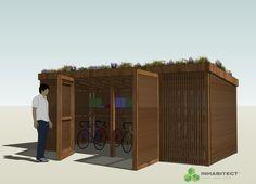 Bike and Storage Shed