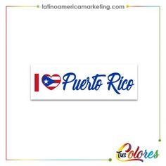 Calcomania Para Carro De Puerto Rico
