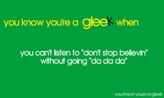 well, because of Glee, and because we sang it in choir :)