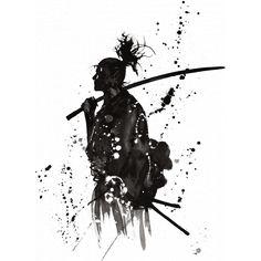 a samuraj nesmi chybet..ale nechci tam zadnyho typka jak z fotky...ale nejakou stylizaci... tohle je treba super..ale asi by se to moc nehodilo k rtomu ostatnimu..ale kdybys to tam zvladl nejak zakomponovat..tak by to bylo bozi...