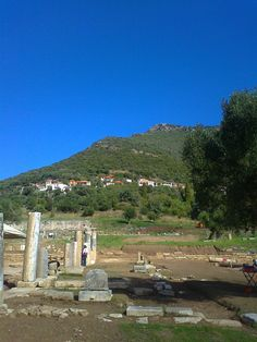 Ancient Messene and Ithomi village