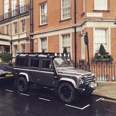 Is this the most photographed car in Mayfair?! - #TwistedDefender #London…