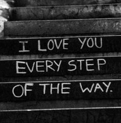Every Step #journey #projectinspired #love