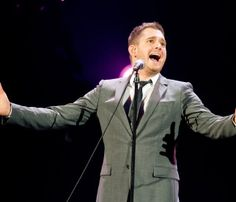 Canadian crooner Michael Buble is known for his soulful voice, boyish good looks and a dark and mysterious off stage persona, filling the void left by old-school greats like Sinatra and Bobby Darin… Bobby Darin, Michael Buble, Musicians, Ears, Handsome, Singer, Country, My Love, Concert