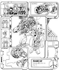 Madcat/Timberwolf cutaway
