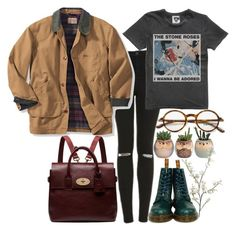 """☁️Rayame☁️"" by rayame ❤ liked on Polyvore featuring Tom Ford, Topshop, Dr. Martens, Mulberry and Pier 1 Imports"