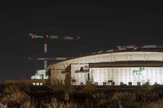 obras nuevo estadio atlético de Madrid