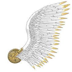 Wing of Hermes Tattoo Idea
