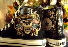 Guns 'N' Roses Converse♥