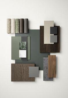 Mood Board Interior, Interior Design Boards, Interior Design Inspiration, Furniture Design, Moodboard Interior Design, Made Furniture, Scandinavian Interior Design, Küchen Design, House Design