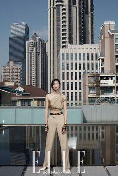 Liu Wen Models Elegant Ensembles for ELLE China - Page 2 of 2
