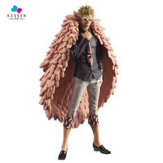 Kissen One Piece Joker Donquixote Doflamingo Flamingo Figure DXF 18CM PVC Action Figure Model Kids Gift //Price: $US $38.99 & FREE Shipping //     #toys