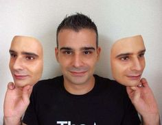 3D Printed Mask of Your Self