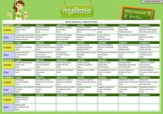 Menú semanal de junio para imprimir ¡llega el verano! Healthy Menu, Healthy Kids, Healthy Recipes, Weekly Menu Planning, Family Meal Planning, Baby Meal Plan, Toddler Menu, Childrens Meals, Eat Seasonal
