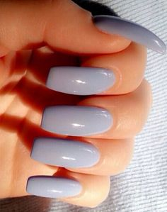 This color is pretty, but the nails are too long