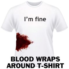 I think I should make a statement and wear this next time I go to Mercy.