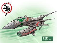 XF-421 by TheXHS.deviantart.com on @deviantART