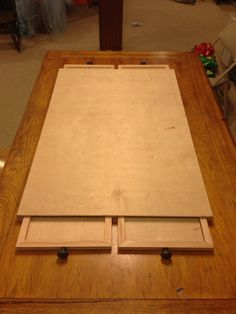 1000 ideas about puzzle table on pinterest puzzle storage puzzle board and woodworking - Puzzle boards with drawers ...
