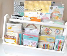 i am becoming obsessed with the idea of having a few toolboxes like these.