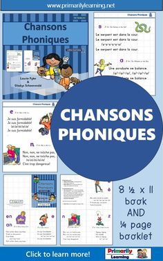 Core French or French Immersion Phonics Songs Phonics Song, Jolly Phonics, Foreign Language, French Language, Letter S Activities, Sue Lloyd, Print Letters, Classroom Charts, French Kids