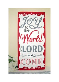 Christmas sign, would be cute to line up signs with lines from favorite Christmas songs